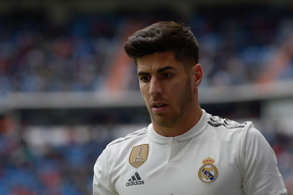Asensio Of Real Madrid During A Match Between Real Madrid Vs Eibar