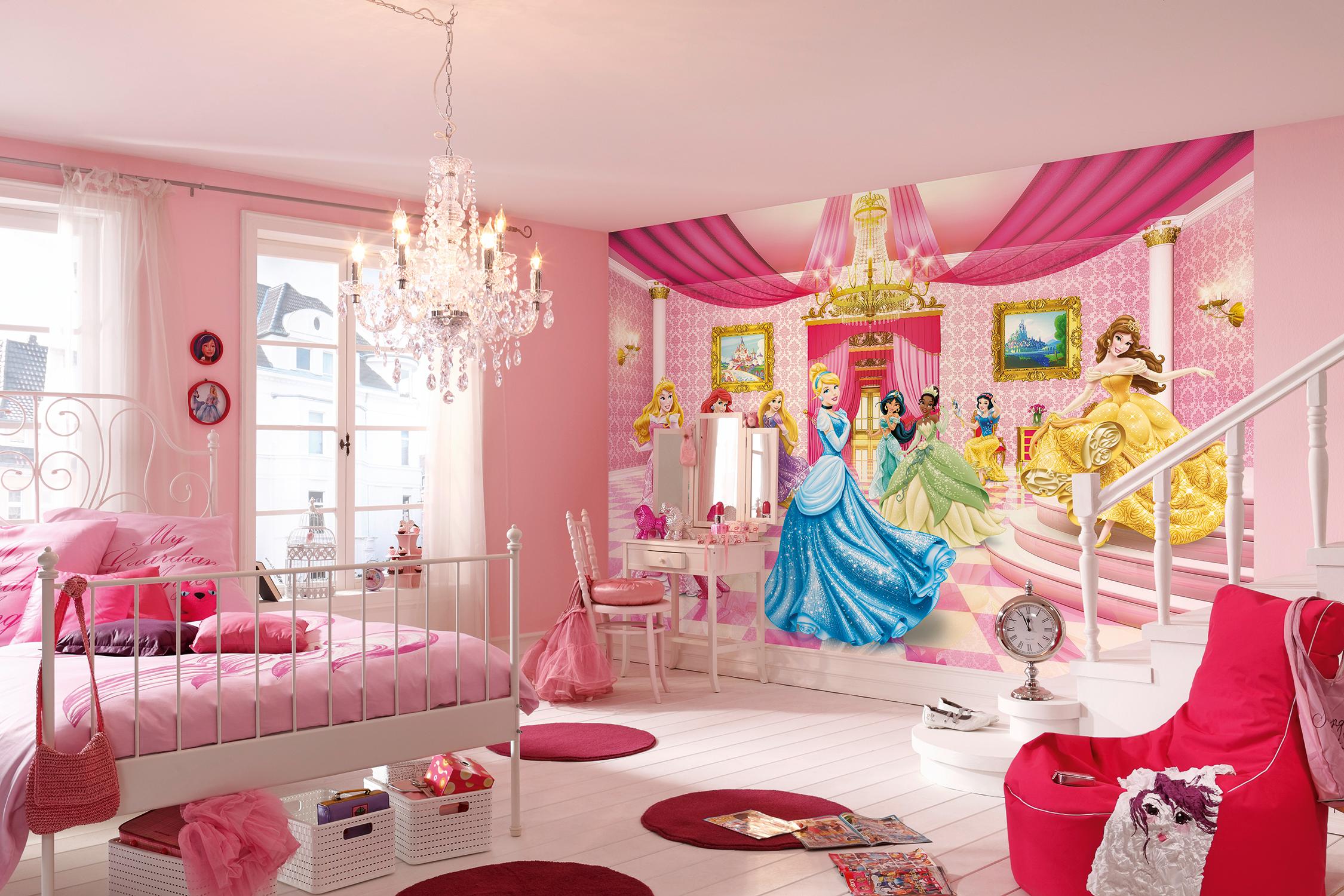 Perfekt für kleine Prinzessinen. Die Komar Fototapete Princess ...
