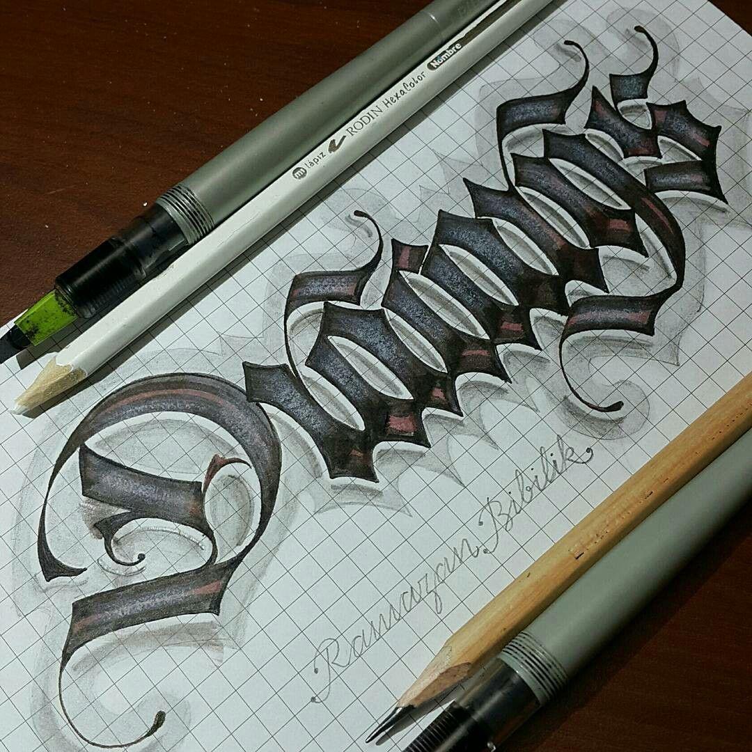 Pin von Özay Çuhadar auf Calligraphy | Pinterest | Kalligraphie und ...