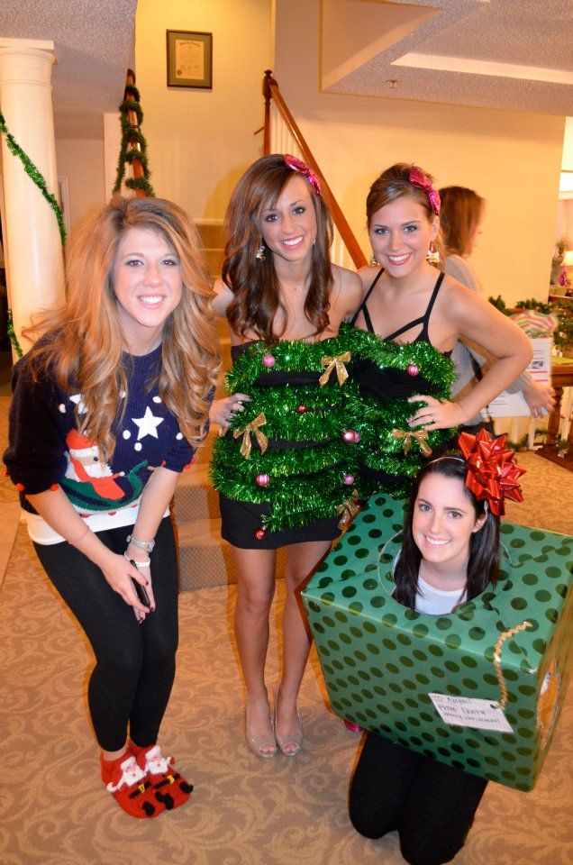 Celebrating the best holiday there is, Christmakkuh. TSM. - Ugly christmas sweater party