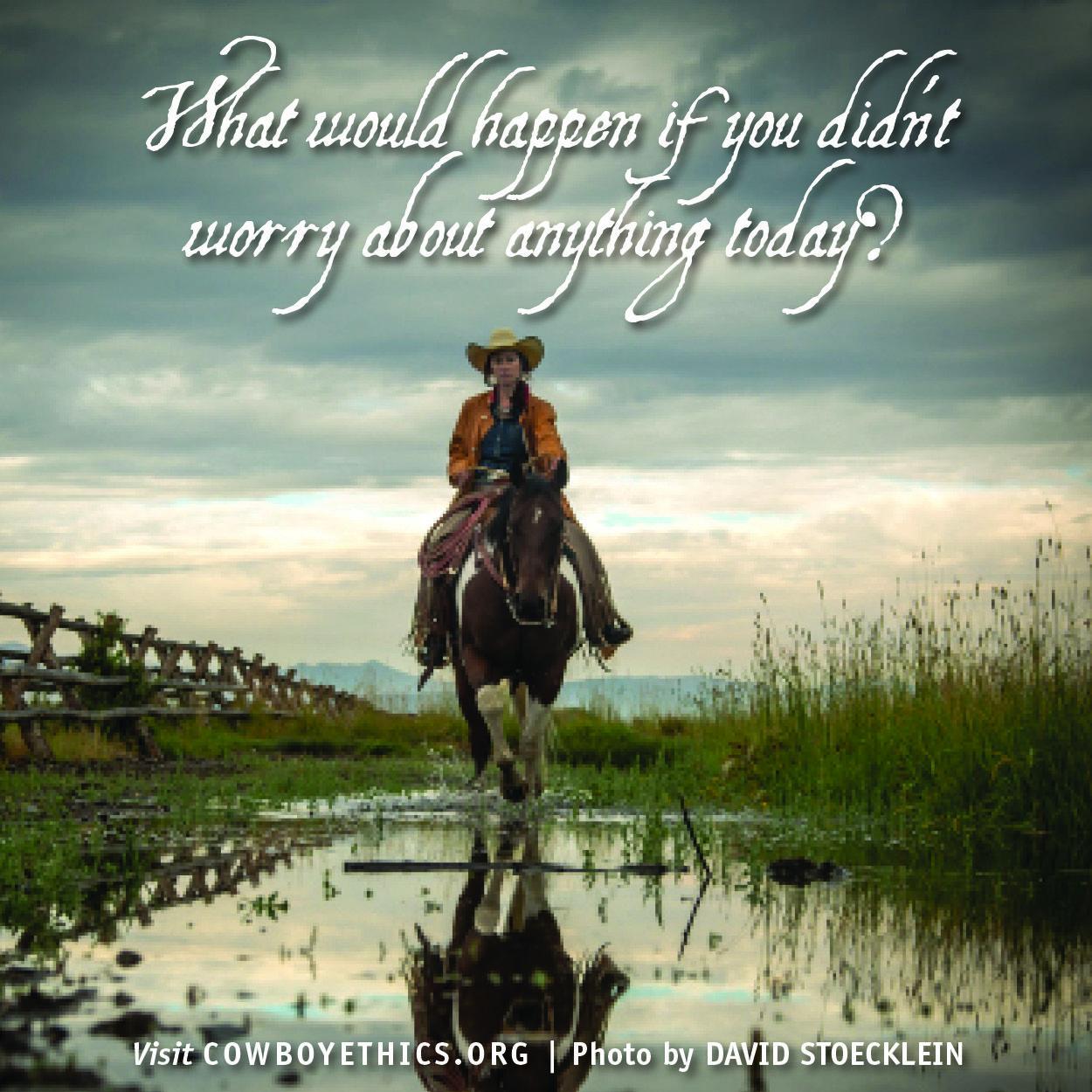 Cowboys Cowgirls Cowboy Ethics Wboyethics