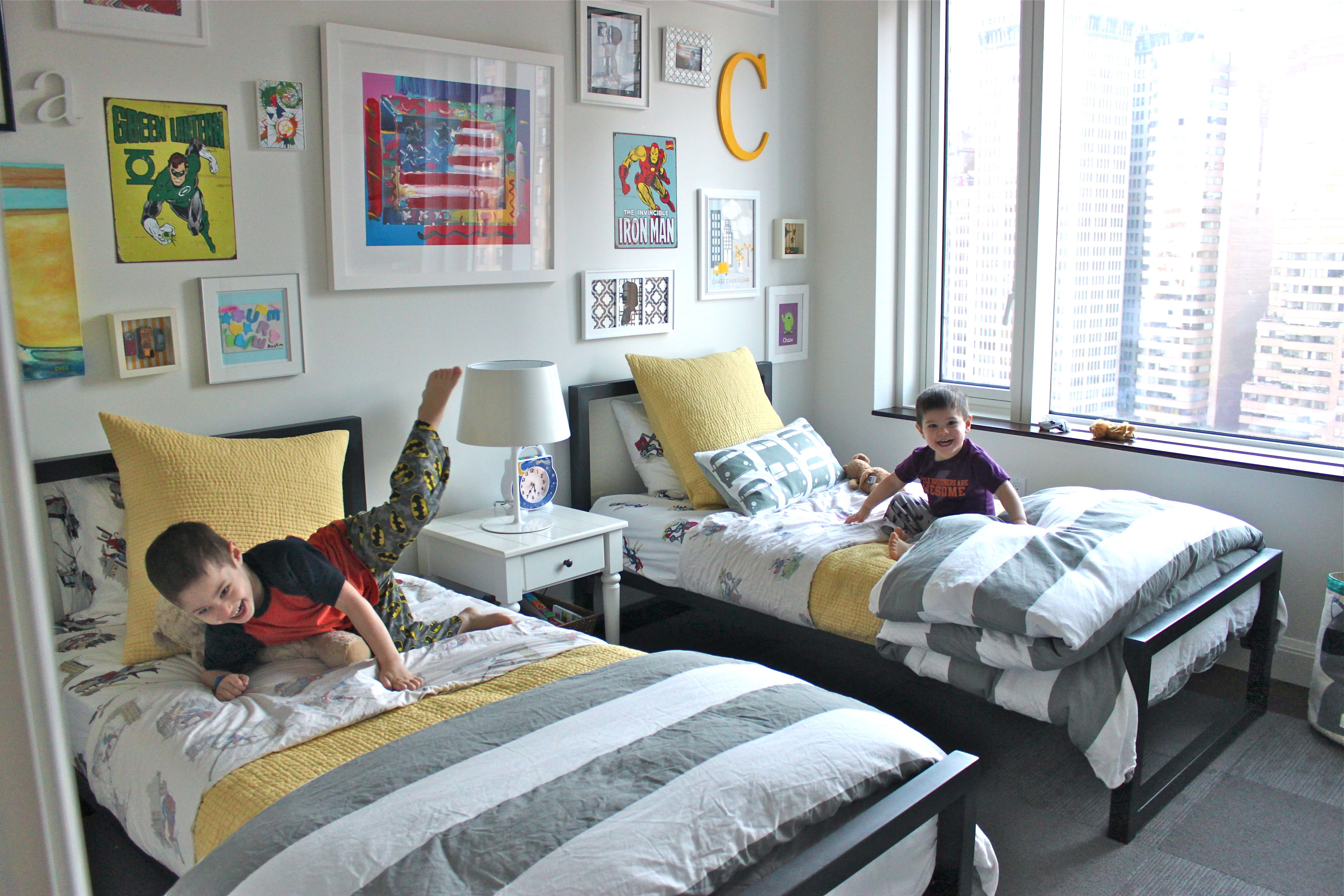 Declutter Your Life With 500 To Target And The Container Store Boys Shared Bedroom Shared Boys Rooms Kid Room Decor