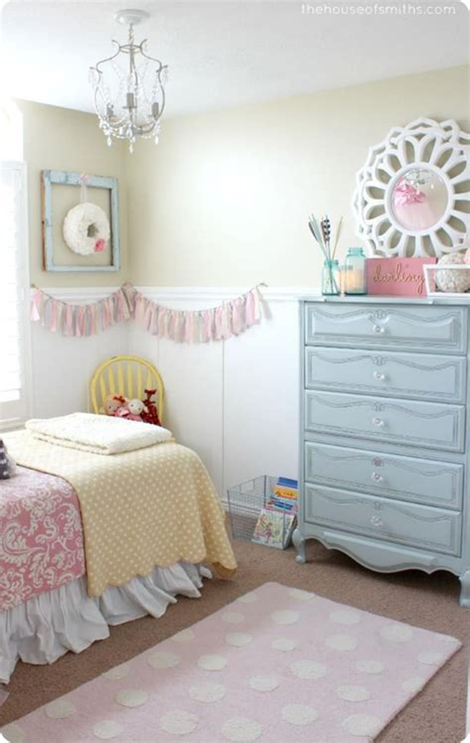 45 Beautiful Little Girls Bedroom Decorating and Design
