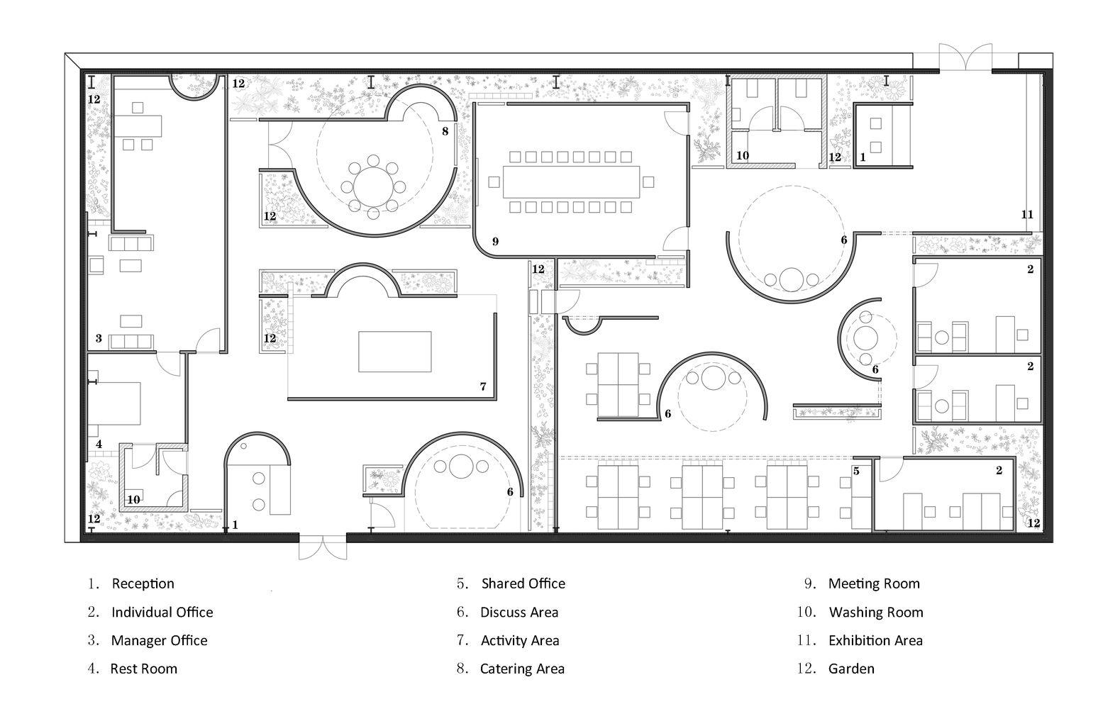 Gallery Of Dream Garden Mur Mur Lab