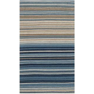 Safavieh Hand-woven Marbella Cream/ Blue/ Black Wool Rug (2'3 x 4') | Overstock™ Shopping - Great Deals on Safavieh Accent Rugs