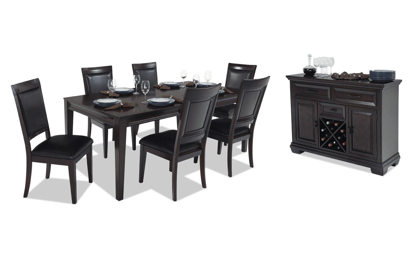 Matrix 8 Piece Dining Set With Server Bobs Com Dining Room