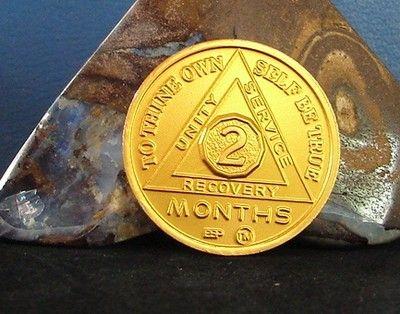 Sobriety Milestone Custom Sobriety Date Recovery Medallion Token Chip