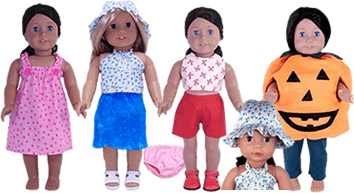 Doll Clothes Making Video Course & Doll Outfit Patterns. Open until 8/9