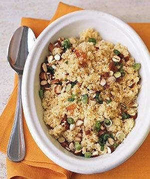 Couscous With Apricot Vinaigrette recipe