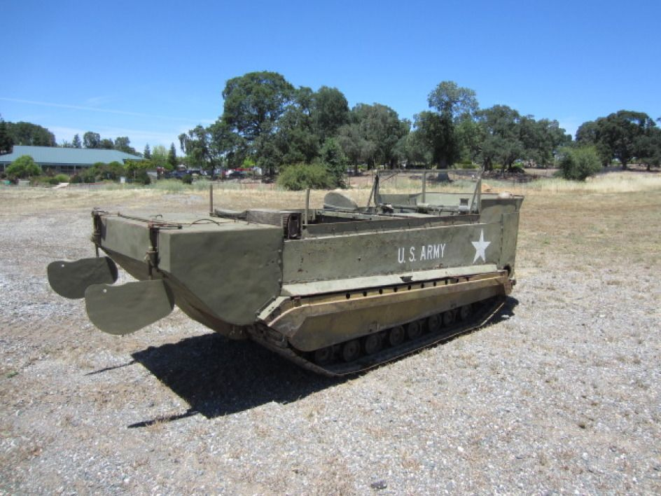 This old U S  Army 1944 Studebaker M29-C Water Weasel is coming up