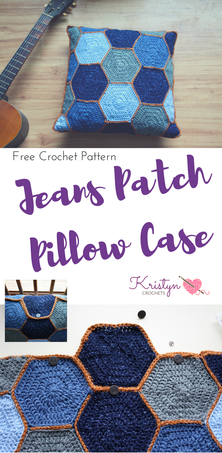 This free crochet pattern features a removable button up crochet ...