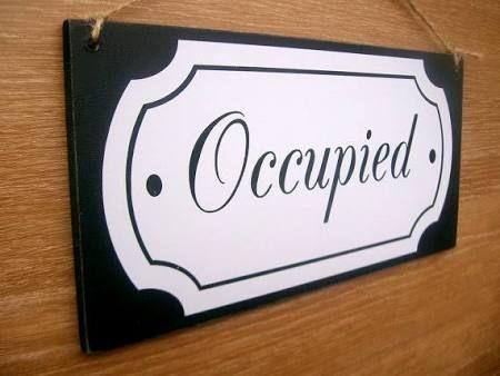 retro occupied sign for bathroom\u0027 - Google Search Signs