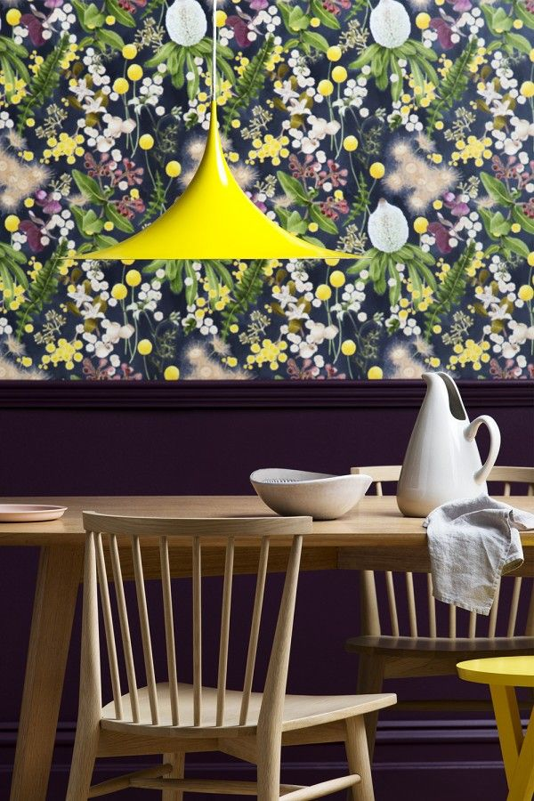 2016 colour trends forecast - Haymes Paint Bright dining room with pop of color