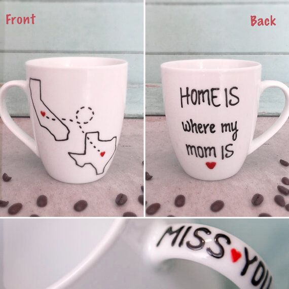 Mom Gifts Personalized Coffee Mug Birthday Gift For From Daughter