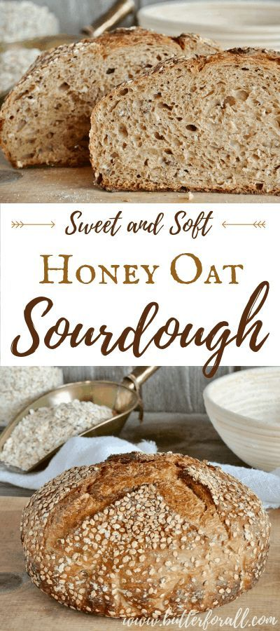 Photo of Sweet and Soft Honey Oat Sourdough