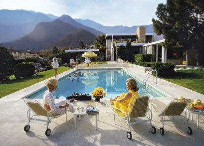 Not since 1970, when Slim Aarons photographed Edgar J Kaufmann's desert house designed by Richard Neutra, has Palm Springs been this hot