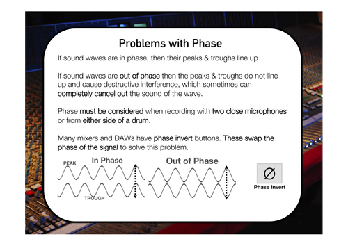 Music Technology AS / A2 Revision Cards