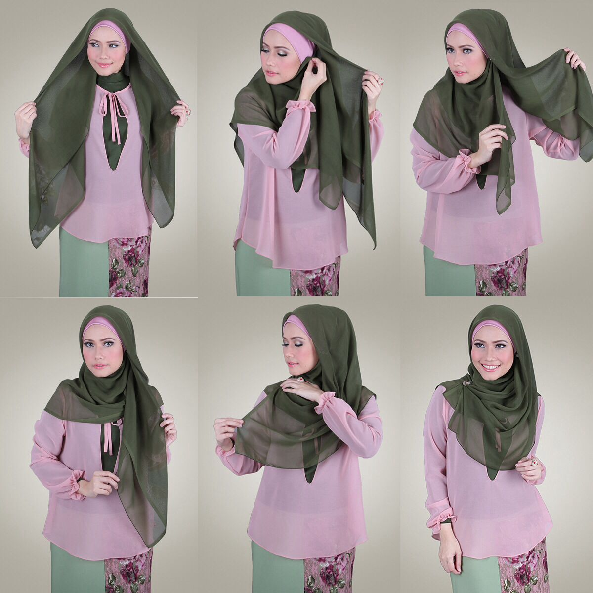 This Hijab Style Can Be Worn For Any Special Occasion Or Event It