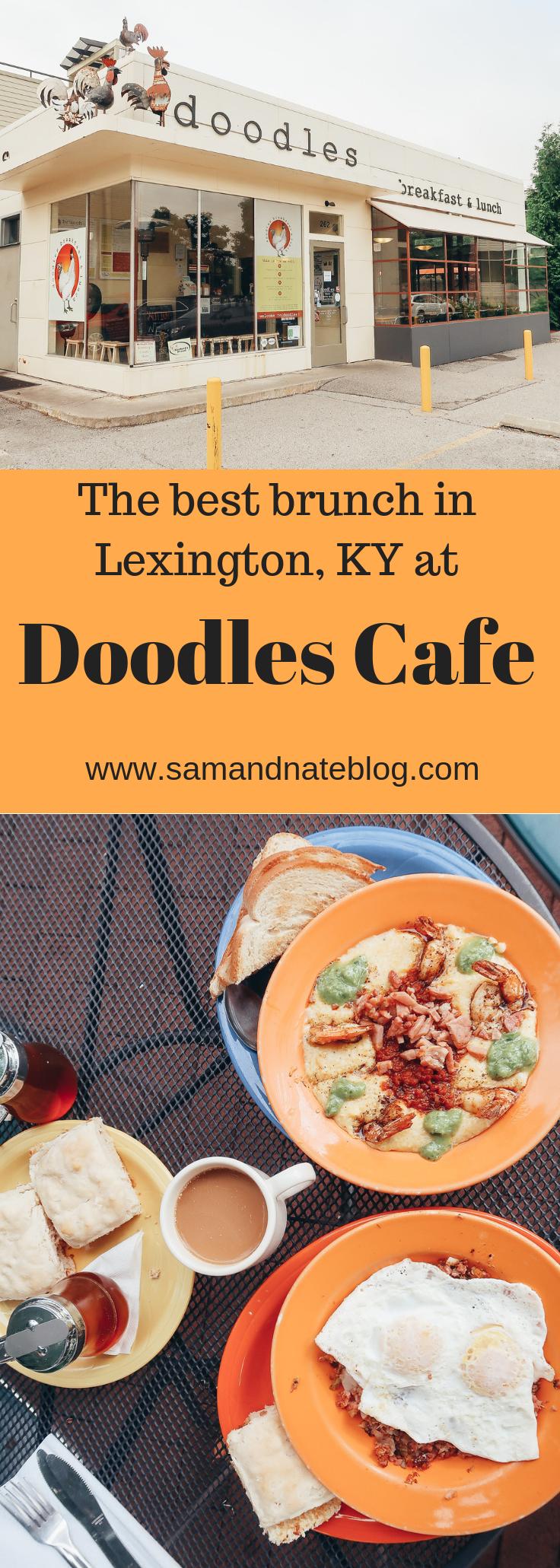 Breakfast Date At Doodles Cafe Sam And Nate Kentucky Travel Kentucky Lexington