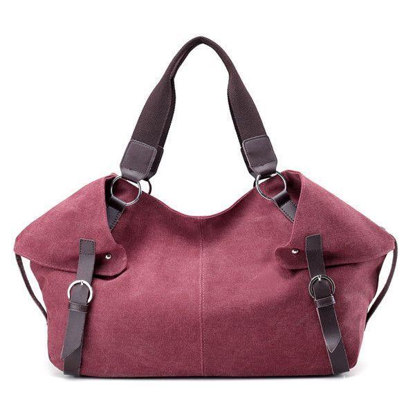 0sprey Handbags Women Retro Canvas Tote Casual Shoulder Bags Capacity Crossbody Ping 7