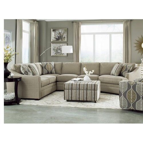 F9 Design Options Customizable 3-Piece Sectional with LAF ...