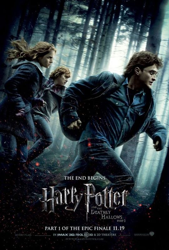 Harry Potter And The Deathly Hollows Harry Potter Movie Posters Deathly Hallows Movie Deathly Hallows Part 1