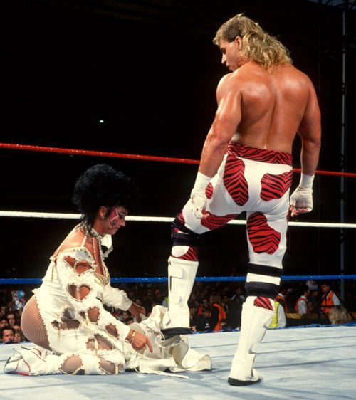 Shawn Michaels With Sherri Martel With Images Sherri Martel