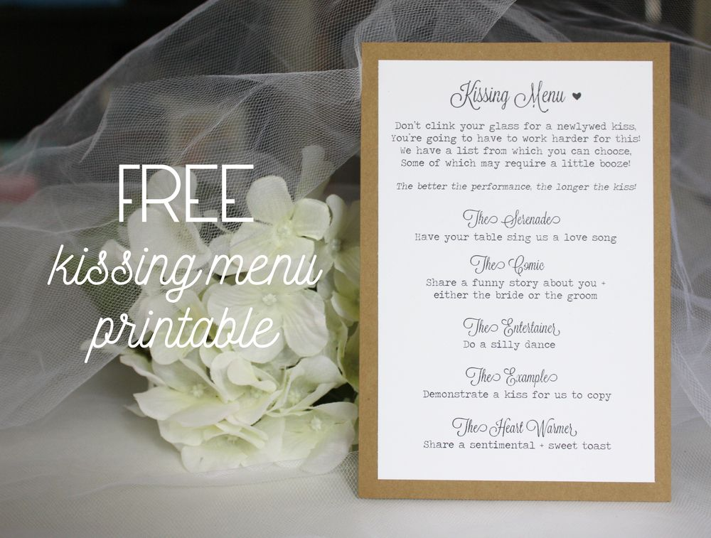 Welcome To My Little Corner Of The Internet Here S Where I Ll Be Sharing New Shop Items As They Become Avail Diy Wedding Reception Kissing Menu Wedding Games