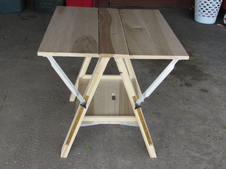 Portable Folding Work Table Table Woodworking Projects