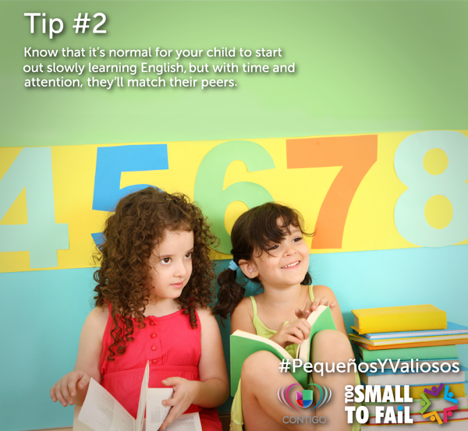We're sharing five tips every parent should know about their young dual language-learners. Here's tip #2. Remember, they CAN catch up!