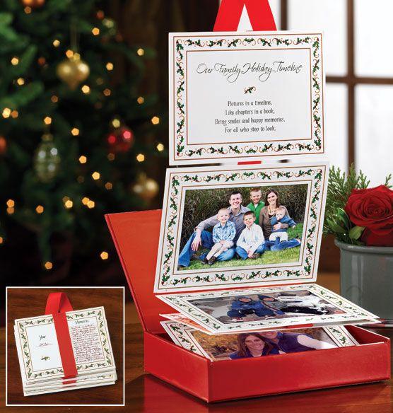 christmas card timeline