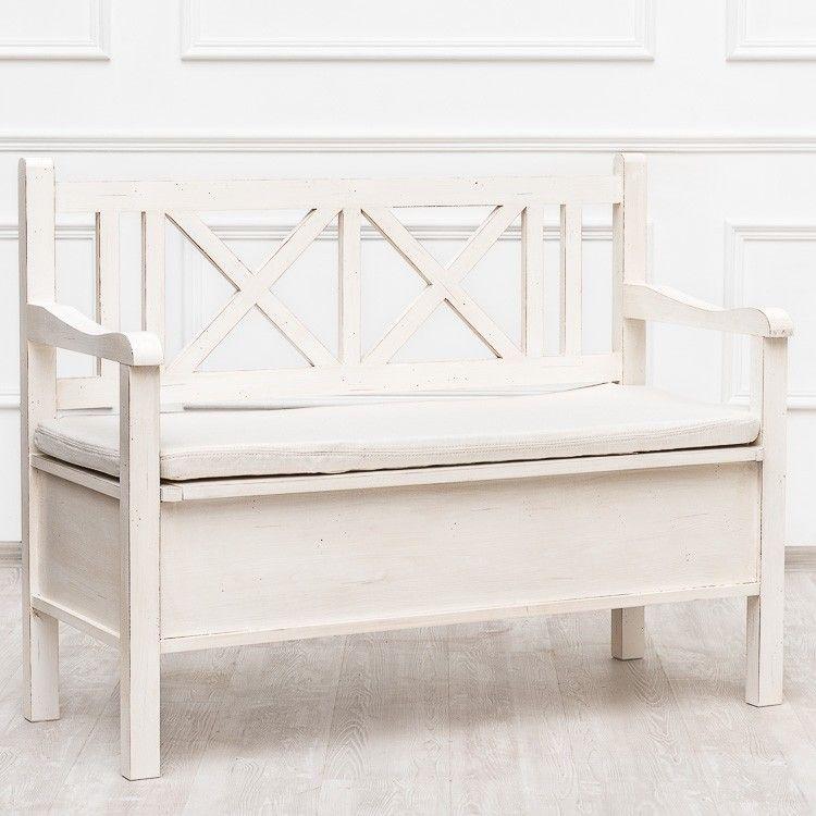 новые скамейка для спальни в стиле прованс фото очень