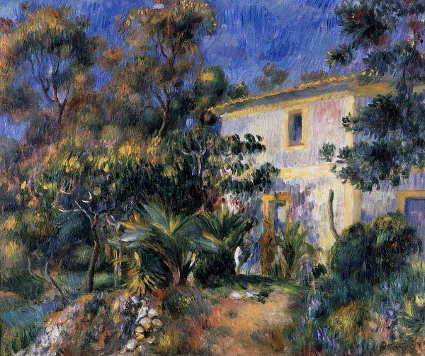 Algiers Landscape Pierre Auguste Renoir Oil Painting
