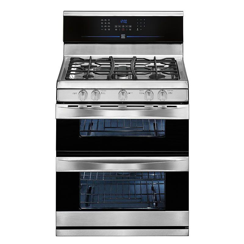 Kenmore Elite 78923 5 8 Cu Ft Double Oven Gas Range