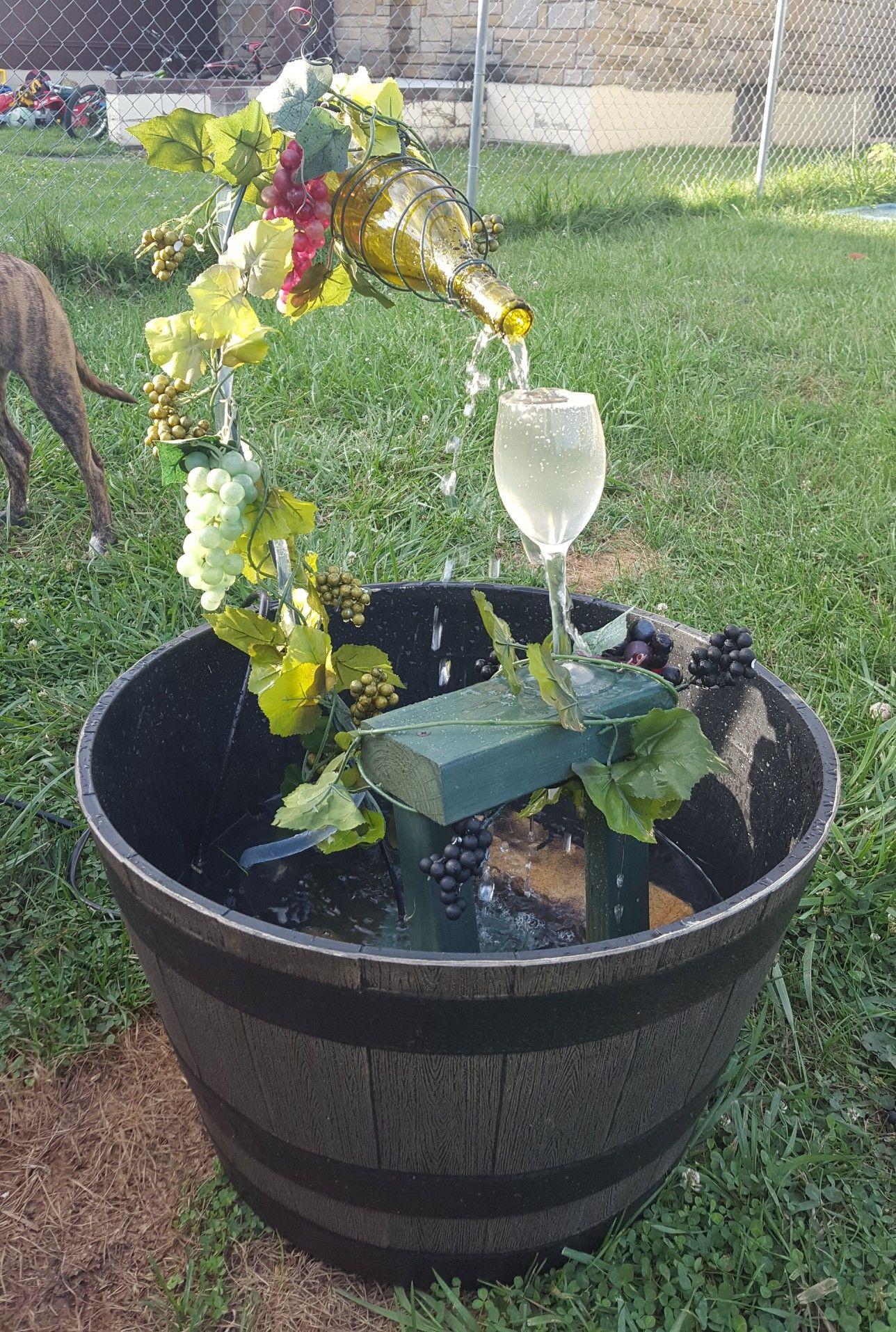Wine Bottle Fountain Diy Wine Bottle Fountain Diy Water Fountain Diy Fountain