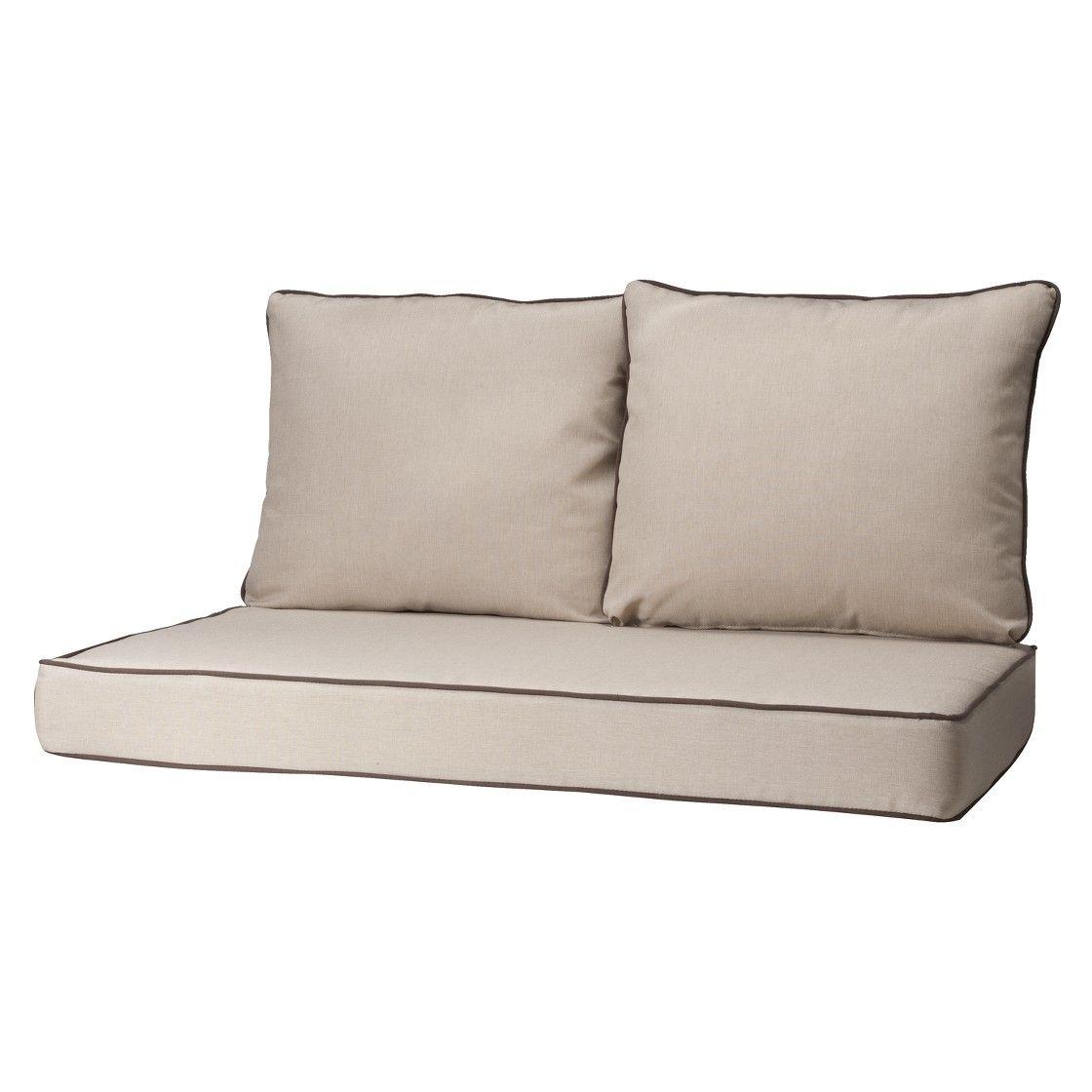 Rolston 3pc Outdoor Replacement Loveseat Sofa Cushion Set Haven Way Cushions On Sofa Love Seat Loveseat Sofa