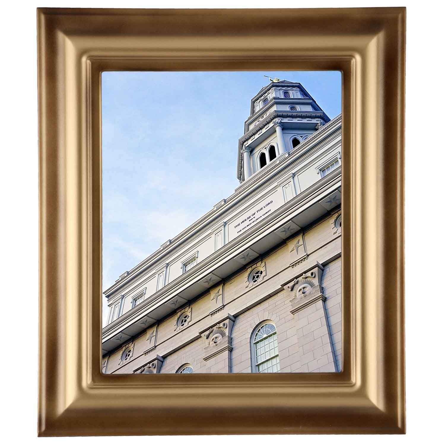 Framed Temple Picture $149 Nauvoo, Illinois Temple | Framed LDS ...