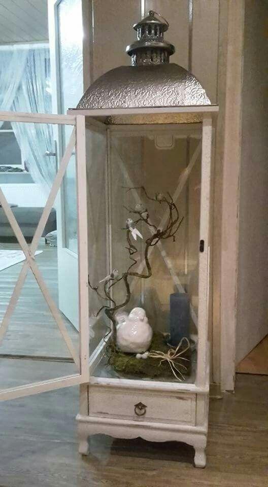 gro e laterne deko innen pinterest windlichter mit maritim. Black Bedroom Furniture Sets. Home Design Ideas