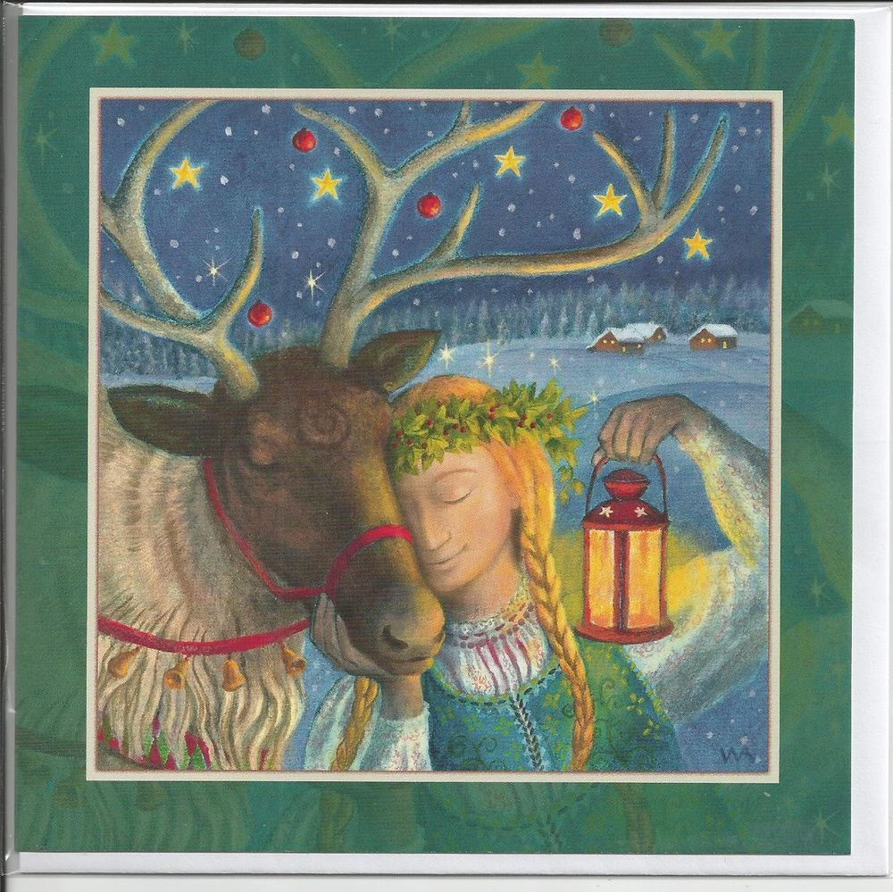 Magic Moment Yule Card By Wendy Andrew Yule Winter Solstice