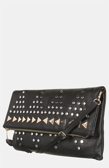 Topshop Studded Clutch   Nordstrom - night out clutch