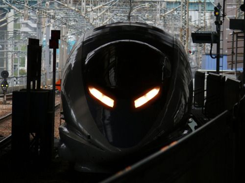 angry bullet train
