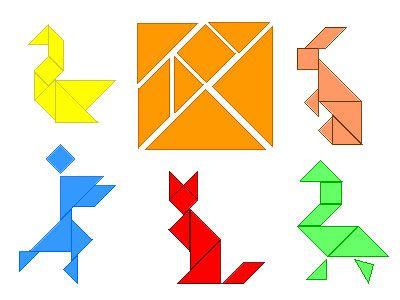 Resultado de imagen de kids tangram