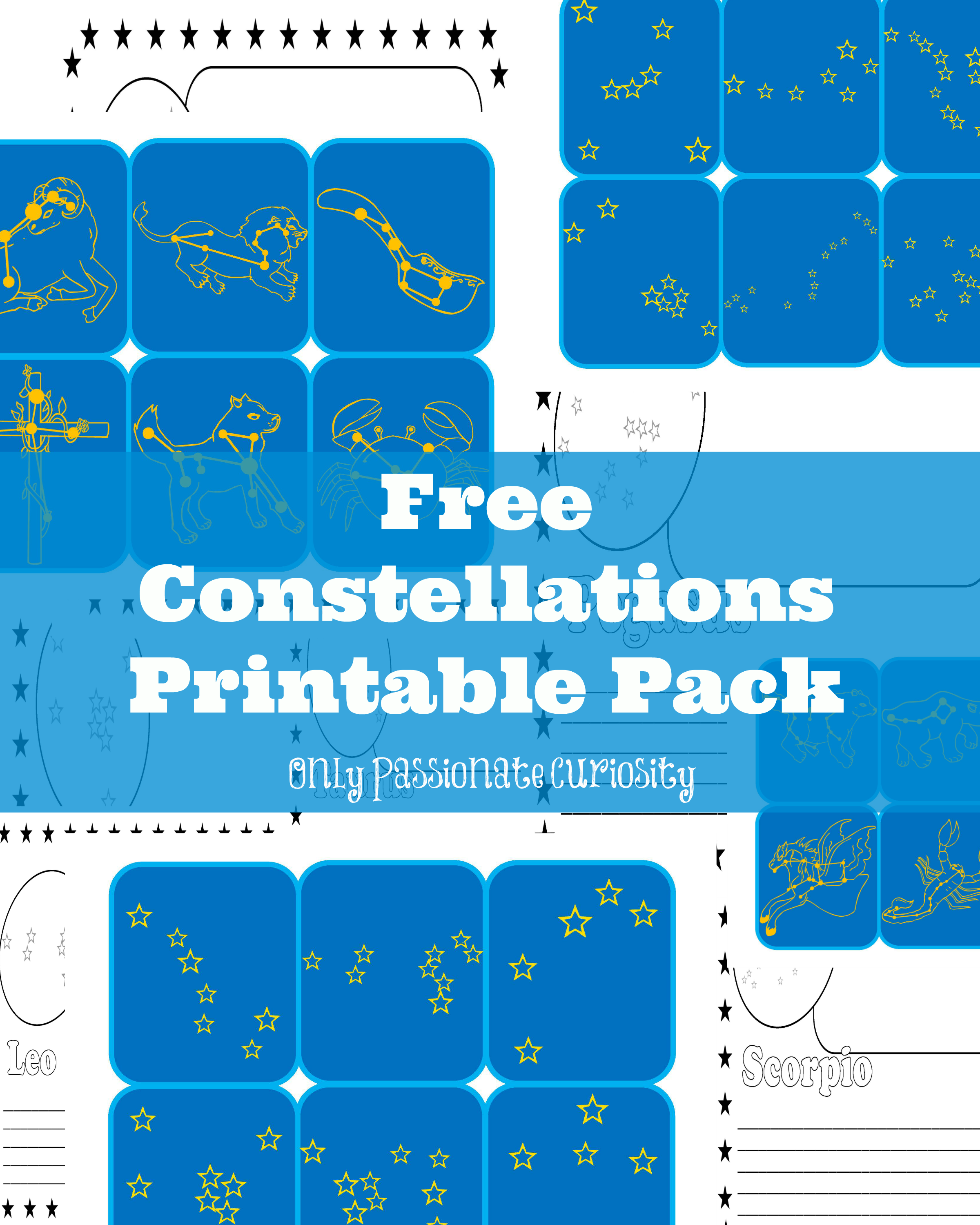 worksheet Constellation Worksheet 78 images about astronomy for kids on pinterest constellation chart solar system and model