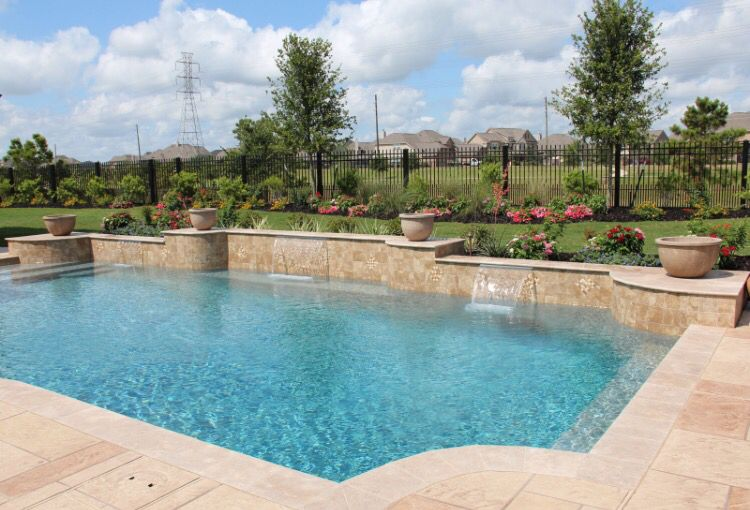 Pin By Ashley Black On Pool Swimming Pools Pool Designs Custom Swimming Pool