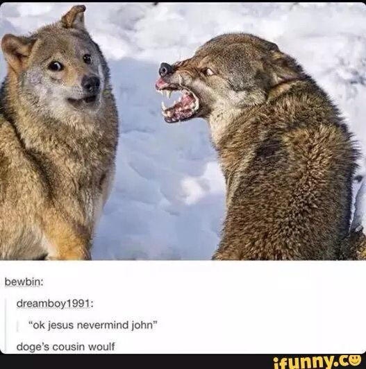 """""""Shit, I just wanted to know if you wanted to play in the snow. Damn"""""""