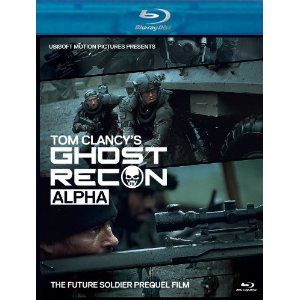 Tom Clancy S Ghost Recon Alpha Bluray Dvd Combo Pack Blu Ray