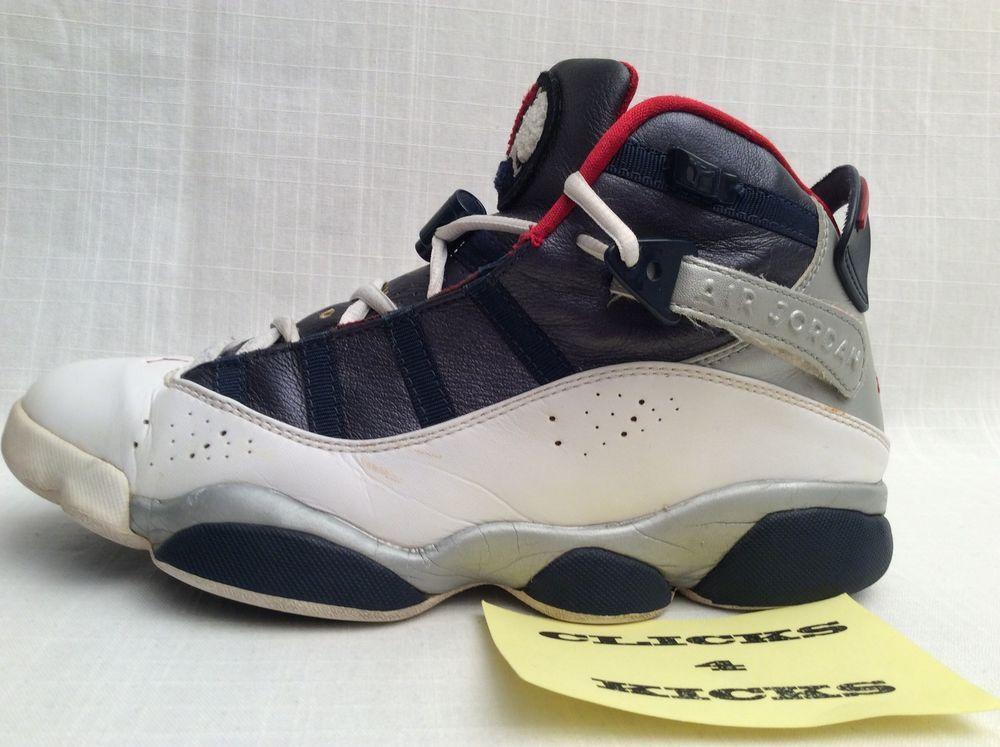 c1a8a84db2e5 JORDAN 6 RINGS  322992-161  OLYMPIC ROSHE FLYKNIT RETRO SIZE 8.5 FREE  KEY-CHAIN  Nike  BasketballShoes