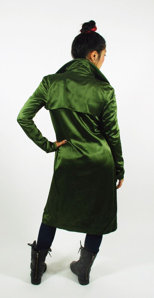 Image of Go Go Green Coat for sale by Heartbreak Hotel #vintage #clothes #fashion