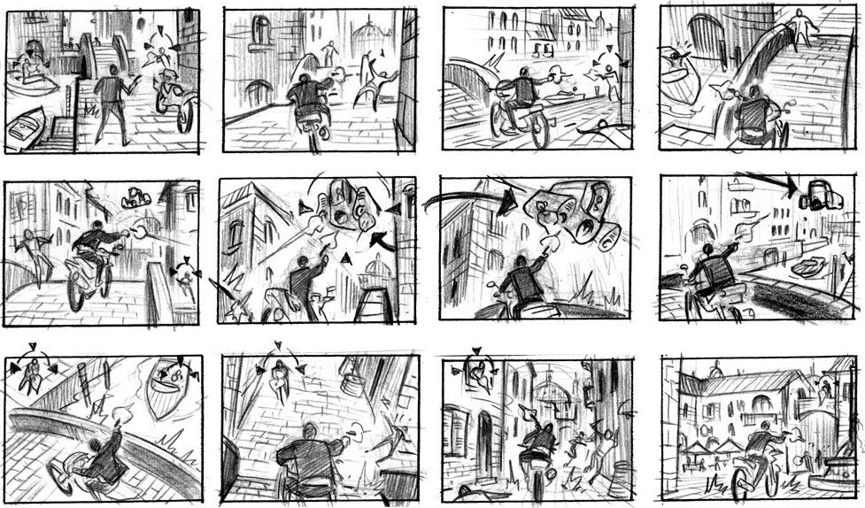 video game storyboards - Google Search Storyboard Pinterest - comic storyboards