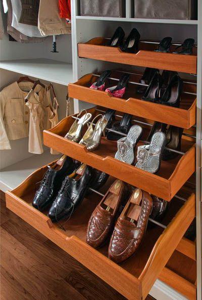 Системы хранения обуви (с изображениями) | Шкаф для обуви ...